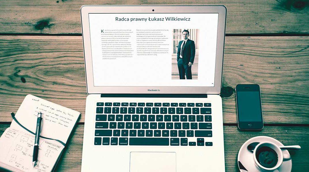 Strona www radcy prawnego