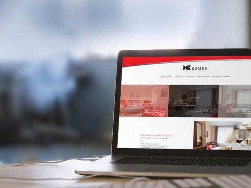 Strona internetowa hotelu