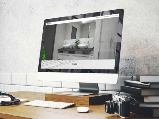 Strona internetowa dla salonu łazienek