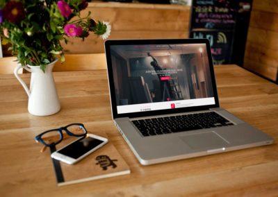 Strona internetowa dla usług budowlanych
