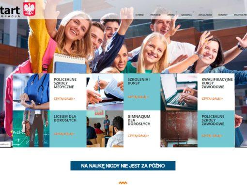 Strona internetowa dla szkół policealnych