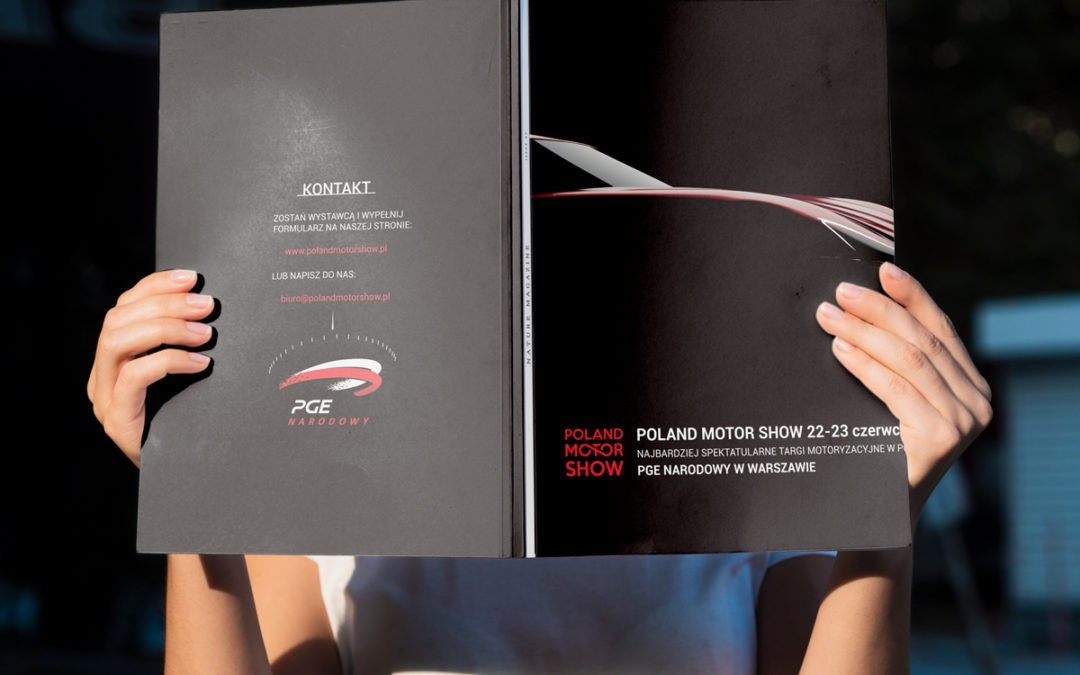 Katalog promujący wydarzenie motoryzacyjne