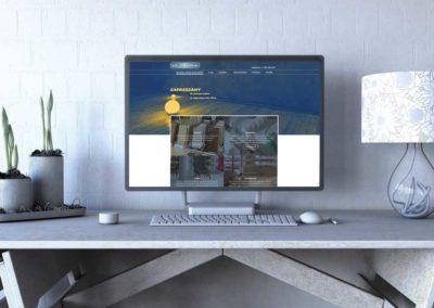 Strona internetowa dla firmy świadczącej usługi remontowe
