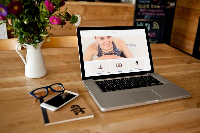 Strona www dla studia pilates w Niemczech