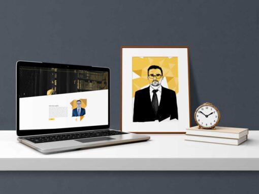 Strona internetowa adwokata